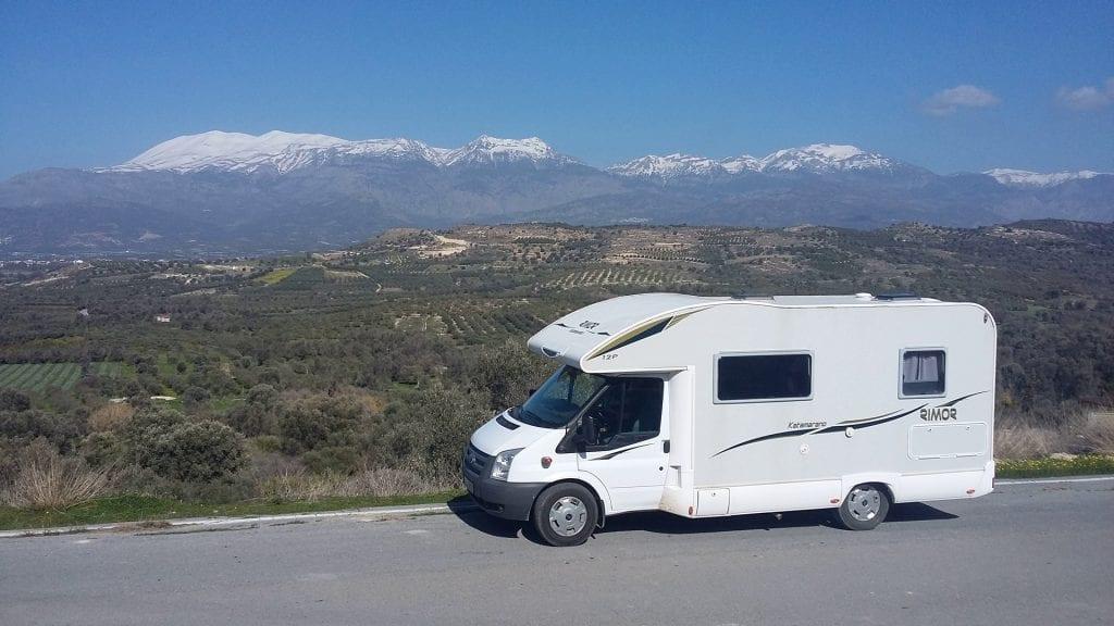 camper verhuur op Kreta