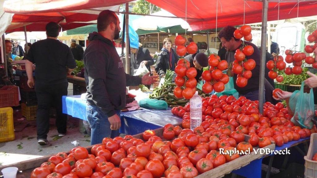 Markt op Kreta