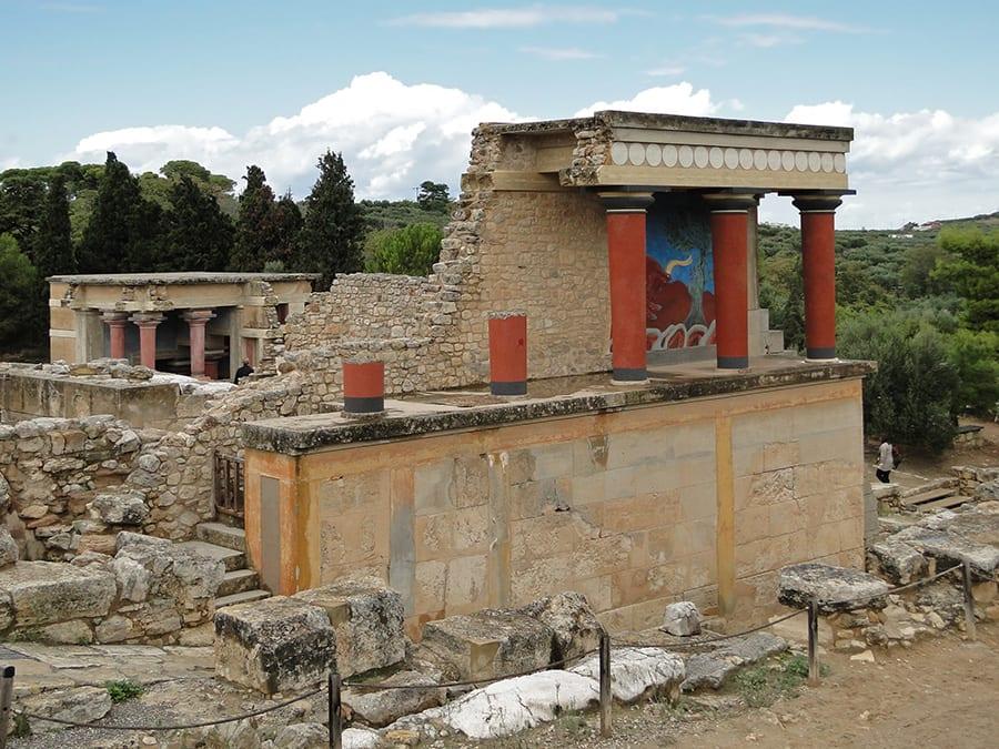 archeologische vindplaatsen kreta